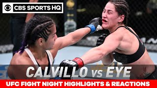 UFC Fight Night highlights & Reactions: Calvillo outpoints Eye in flyweight debut | CBS Sports HQ