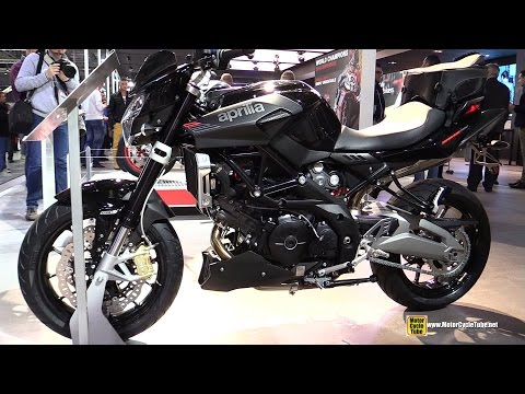 2015 Aprilia Shiver 750 - Walkaround - 2014 EICMA Milan Motorcycle Exhibition