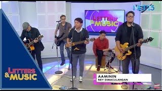 Ney Dimaculangan - Aaminin (NET25 Letters and Music)