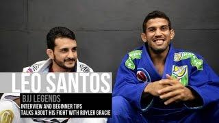 Léo Santos fala sobre sua luta contra Royler Gracie e mais