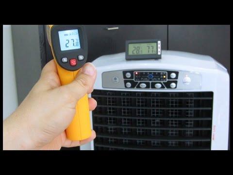 Climatizador evaporativo portatil... enfria o que hace?