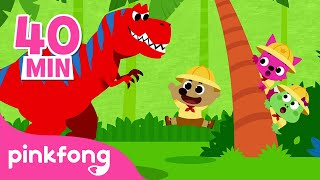 Who is the Dinosaur King? and more   Dinosaur Story Time   Pinkfong Stories for Children