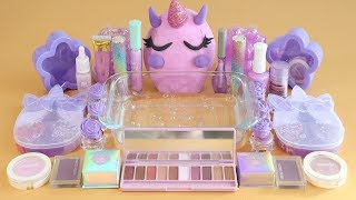 One Color Series Season 7 Mixing LavenderMakeup,More Stuff &Lavender Slime Into Slime!