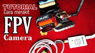 TUTORIAL PALING MUDAH CARA PASANG KAMERA FPV DI RC CAR
