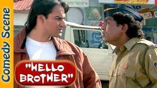 Shemaroo Indian Comedy  - Hello Brother Comedy Scene - Salman Khan - Johnny Lever - Rani Mukerji