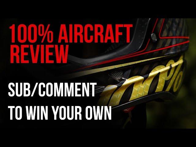 Видео Шлем Ride 100% Aircraft Composite (Knox Black)