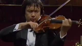 Incomplete Performance of Sibelius Violin Concerto in D minor - Kang