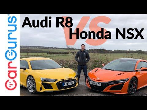 Audi R8 vs Honda NSX: Comparing 2020's best everyday supercars | CarGurus UK