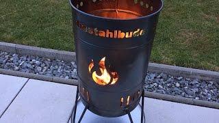 Vorstellung: DIE Stahlbude Feuerkorb (mit Grillrost und Dutch Oven Halter)
