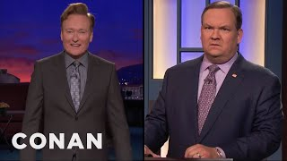 Conan & Andy Hear Words Differently  - CONAN on TBS - Video Youtube
