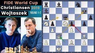 The Will To Win! - Christiansen vs Wojtaszek | Fide World Cup 2019