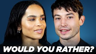 """The Cast of """"Fantastic Beasts: The Crimes of Grindelwald"""" Play """"Would You Rather?"""""""
