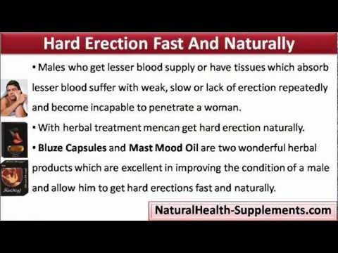 How to achieve hard erection