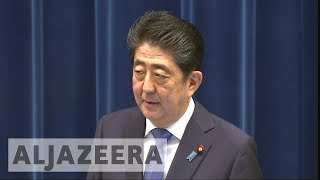 Japan's prime minister calls snap elections