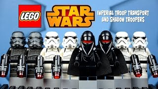 LEGO Star Wars 75079 Shadow Troopers & 75078 Imperial Troop Transport Battlepack