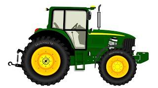 Как устроен и зачем нужен трактор. Мультфильм