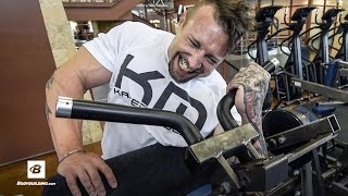 Biceps and Triceps Workout | Day 24 | Kris Gethin's 8-Week Hardcore Training Program by Bodybuilding.com