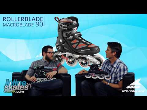 Video: 2016 Rollerblade Macroblade 90 Mens and Womens Inline Skate Overview by InlineSkatesDOTcom