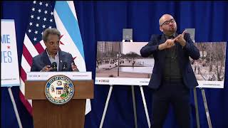 Coronavirus in Chicago | Mayor speaks after closing lakefront to public