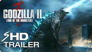GODZILLA 2: King of the Monsters - Teaser Trailer (2019) Action Movie [HD] Concept