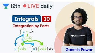CBSE Class 12: Integrals L10 | Integration by Parts | Maths | Unacademy Class 11 & 12 | Ganesh Sir - Download this Video in MP3, M4A, WEBM, MP4, 3GP