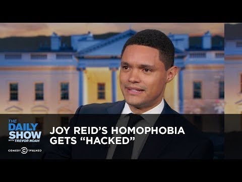 """, title : 'Joy Reid's Homophobia Gets """"Hacked"""" - Between the Scenes 
