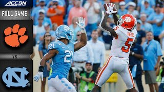Clemson vs. North Carolina Full Game | 2019 ACC Football