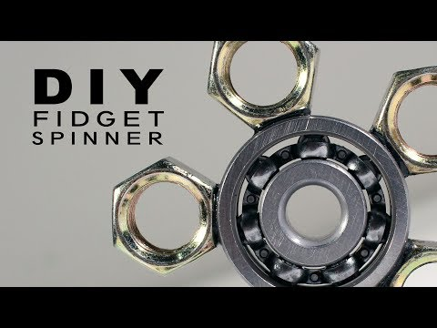 Video Cara Mudah Membuat Fidget Spinner