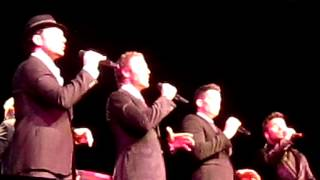 The Tenors singing Lullaby live in Portland