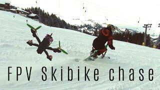 Skibike / Schneevelo Test & Rent Station Sörenberg by Sledgehammer - FPV Action Movie