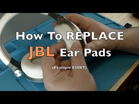 How to Replace the Ear Pads on a JBL Headphone