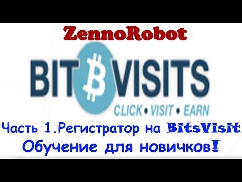 Обучение ZennoPoster на примере регистратора к Bitsvisit.com