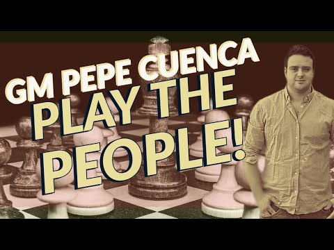 GM Pepe Cuenca Plays The People!   chess24.com
