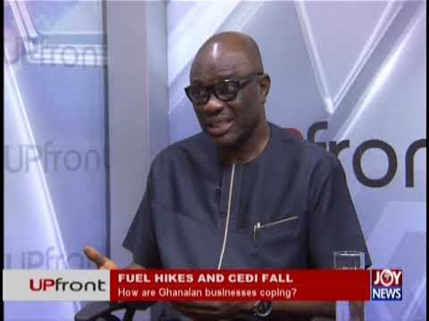 Fuel price hikes and cedi fall - UPfront on JoyNews (20-9-18)