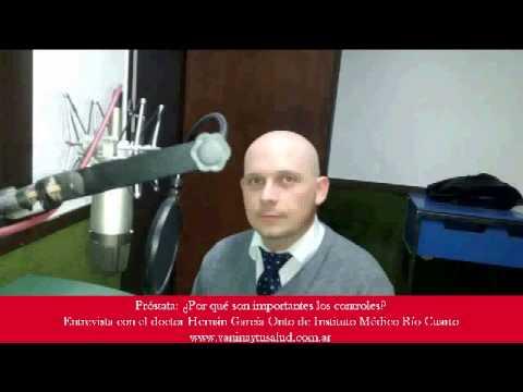 Aparato para el tratamiento de vídeo prostatitis