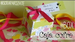 Chest box - Caja cofre