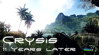 Crysis  Revisiting 11years later 4K  8K textures Apex Real light shader