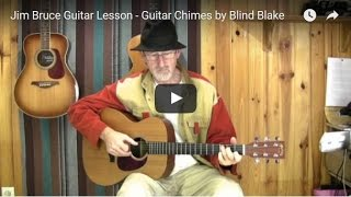Acoustic Blues Guitar Lessons - Death Letter Riff - How To Play Blues Guitar