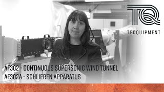 AF302: Continuous Supersonic Wind Tunnel