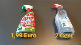 Reinigungsmittel für 2 Cent herstellen