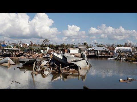 العرب اليوم - شاهد: 27 قتيلًا ومئات المفقودين حصيلة ضحايا الإعصار مايكل في أميركا