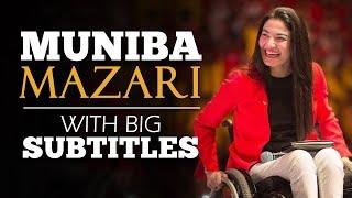 LEARN ENGLISH | MUNIBA MAZARI - We all are Perfectly Imperfect (English Subtitles)