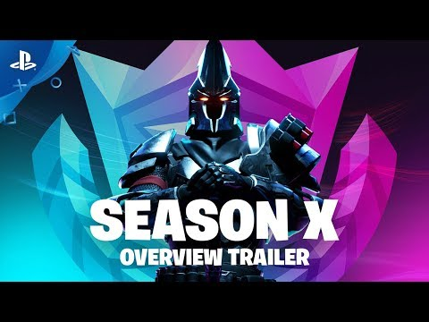 , title : 'Fortnite Season X | Battle Pass Gameplay Overview Trailer | PS4'