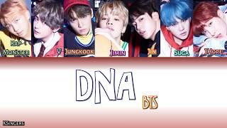 BTS - DNA | Sub (Han - Rom - Español) Color Coded Letra