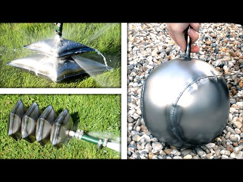 Inflating Metal with Water