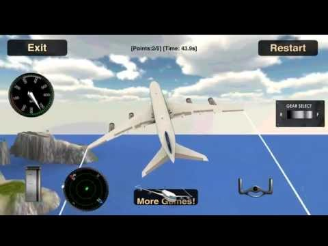 Vidéo Avion Simulateur De Vol 3D