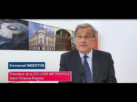 Entretien avec Emmanuel IMBERTON, Président de la CCI LYON METROPOLE Saint-Etienne Roanne