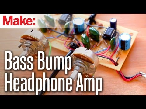 Make Your Own Headphone Bass Amp