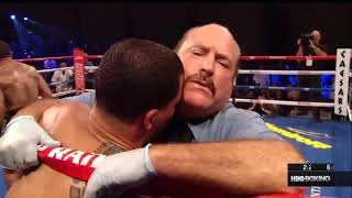 "Ann Wolfe Corner Advice To James Kirkland: ""FUCK THAT THIS YOUR DESTINY NIGGA"" (vs. Glen Tapia)"