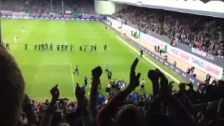 preview picture of video 'SpVgg Greuther Fürth - HSV (Gästeblock) 2. Relegationsspiel 18.05.14'